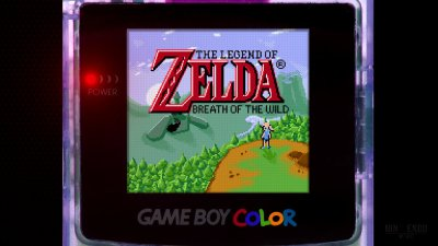 The Legend of Zelda: Breath of the Wild - Game Boy Color De-Make