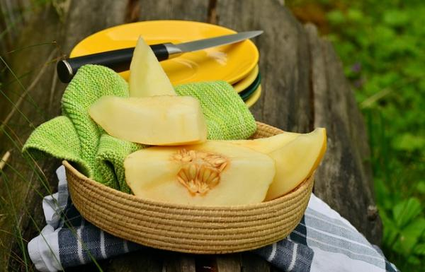 8 types of melons - Yellow melon