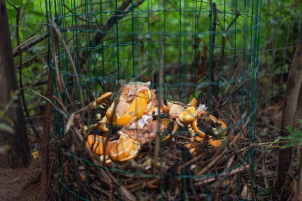 How to make a homemade composter - Homemade wood and wire composter