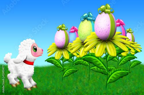 Pasqua e agnello-Paques et agneau-Easter and lamb