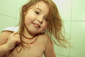 Raus aus der Dusche