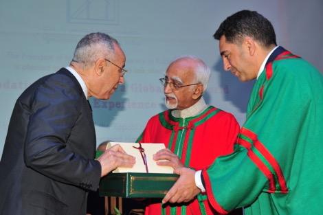 دكتوراه فخرية لنائب رئيس الهند من جامعة الرباط
