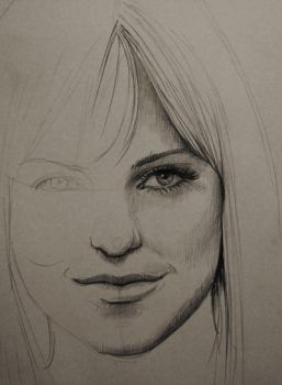 Image result for Anna Faris drawing