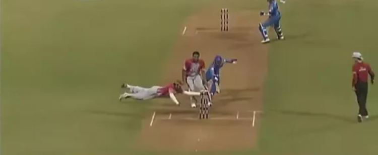 Yuvraj Singh sets the most run outs in an IPL innings with this superman effort