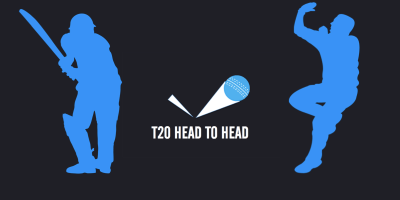 T20 head to head player stats