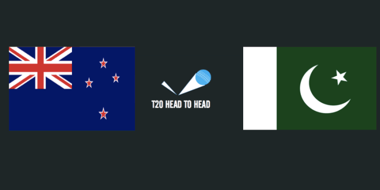 New Zealand vs Pakistan T20 head to head
