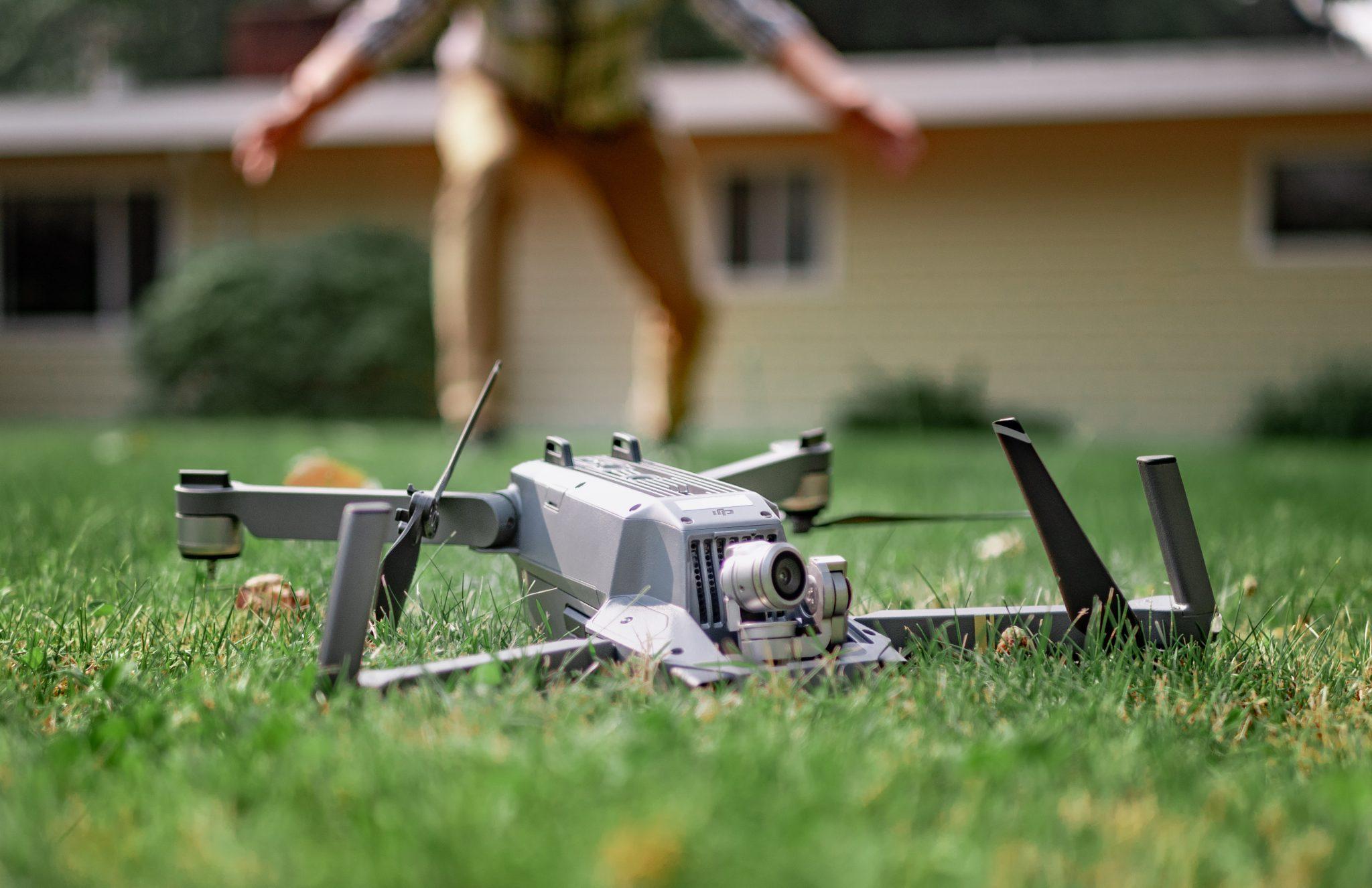 Drone Crash Example