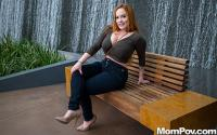 MomPOV   Summer Heart   Perfect redhead MILF who is no amateur
