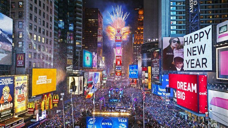 New Year's Eve Schedule for Times Square 2018 – 2019 – Times ...