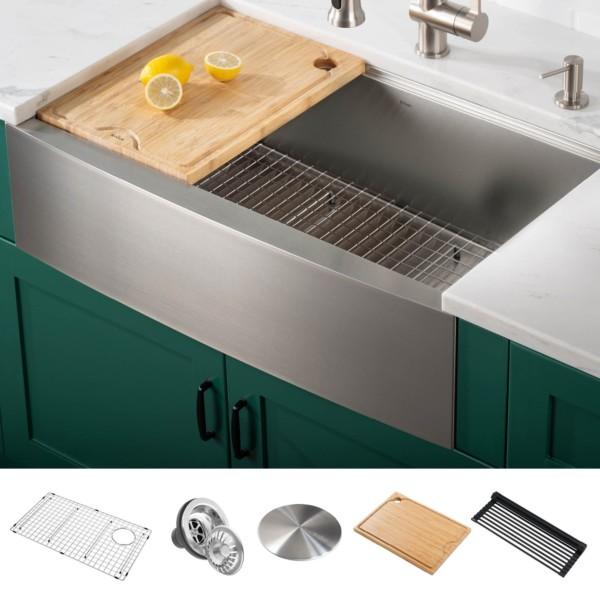 farmhouse kitchen sinks considering