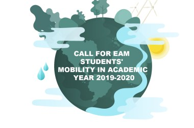 CALL FOR EAM STUDENTS' MOBILITY IN ACADEMIC YEAR 2019-2020