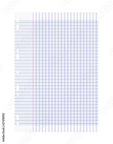Feuille De Papier Isol Fichier Vectoriel Libre De