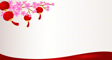 lunar new year background