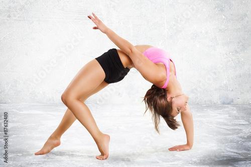 sportliche Frau