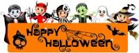 images of happy halloween banner