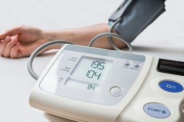 Patient suffers from hypertension