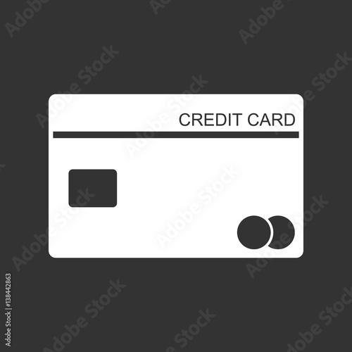 Credit Card Background Black