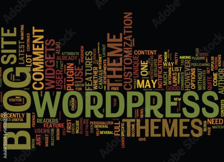 Comment choisir son thème WordPress?