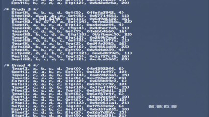 Gambar Terkait Untuk An Bit Source Code Scrolling Animation Scrambled Text From Public Domain White Characters