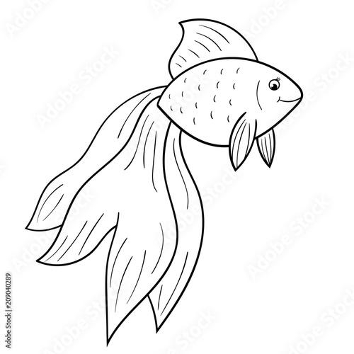 goldfish coloring page # 40