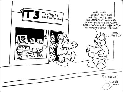 Joscha's Jubiläumssketch für das T3