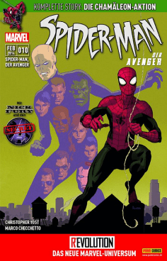 Spider-Man, der Avenger Heft 10