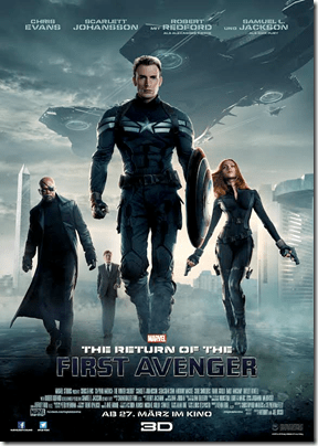 """THE RETURN OF THE FIRST AVENGER"" - Poster"