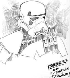 Stormtrooper von Davide Fabbri