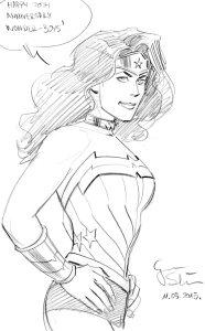 Wonder Woman von Goran Sudzuka