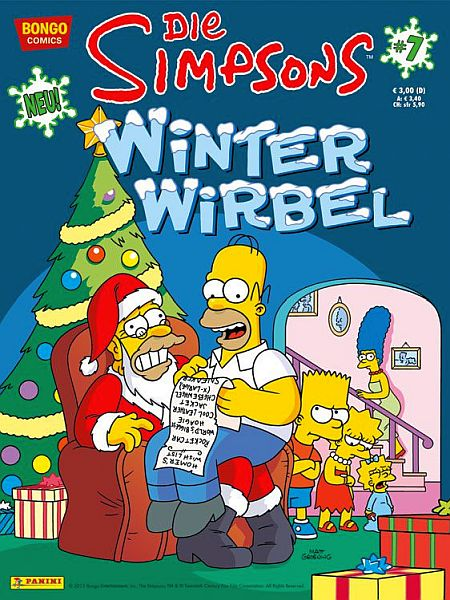 Simpsons Winter Wirbel 10