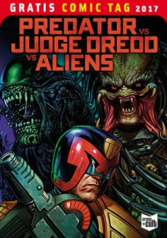 PREDATOR VS. JUDGE DREDD VS. ALIENS CROSS CULT
