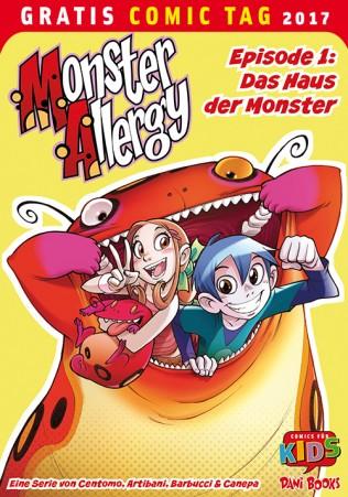 MONSTER ALLERGY EPISODE 1: DAS HAUS DER MONSTER DANI BOOKS