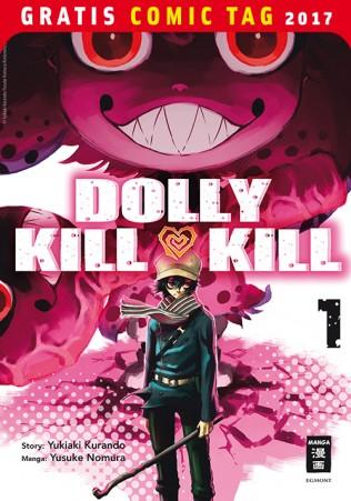 DOLLY KILL KILL EGMONT MANGA