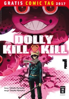DOLLY KILL KILL EGMONT MANGA