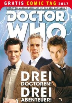 DOCTOR WHO: DREI DOCTOREN! DREI ABENTEUER! PANINI COMICS