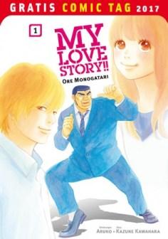 MANGA: MY LOVE STORY – ORE MONOGATARI PANINI COMICS