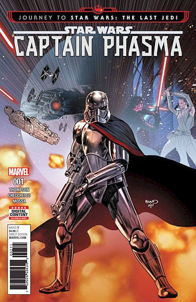Journey To Star Wars: The Last Jedi — Captain Phasma #1