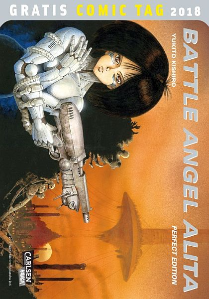 Battle Angel Alita (Carlsen)