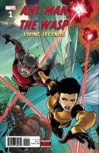 ANT-MAN AND WASP LIVING LEGENDS #1