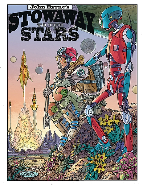JOHN BYRNE STOWAWAY TO STARS #1 SPECIAL EDITION