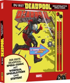 Deadpool: Du bist Deadpool – Interaktiver Spiele-Comic