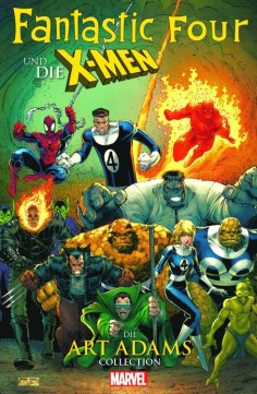 Fantastic Four & die X-Men – Die Art Adams-Collection SC