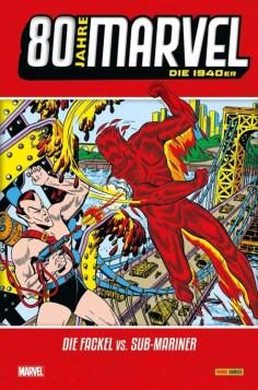 80 Jahre Marvel: Die 1940er: Die Fackel vs. Sub-Mariner