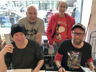 (von vorne links im Uhrzeigersinn) Ingo Römling, Sascha Dörp, Peter Mennigen und Ekki