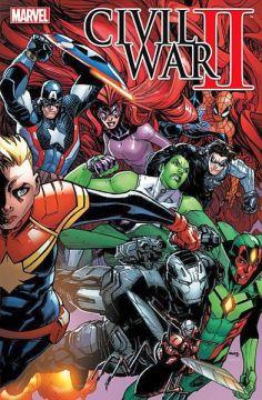 Civil War II 1 (Variant Cover A)