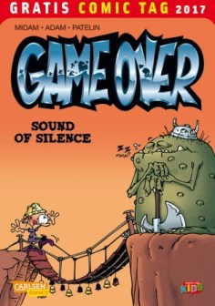 GAME OVER – SOUND OF SILENCE CARLSEN COMICS