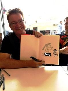 Mike Perkins und seine (nicht ganz jugendfreie) Goofy-Interpretation
