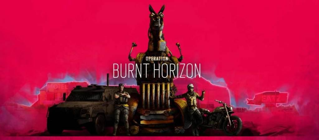 "Tom Clancy's Rainbow Six Siege revela ""Operation Burnt Horizon"""