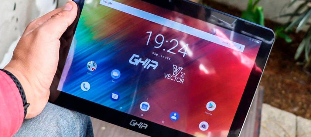 ¿Buscas una tableta con gran pantalla y precio atractivo? Te presentamos Vector 10.1 3G