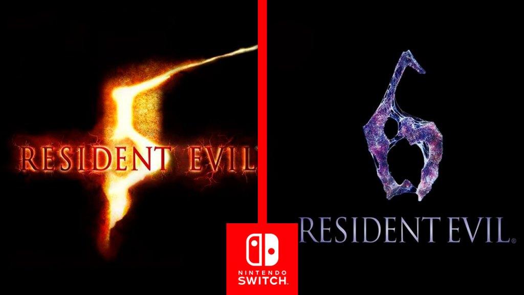 #E32019 | Resident Evil 6 y 5 pronto llegaran a Nintendo Switch